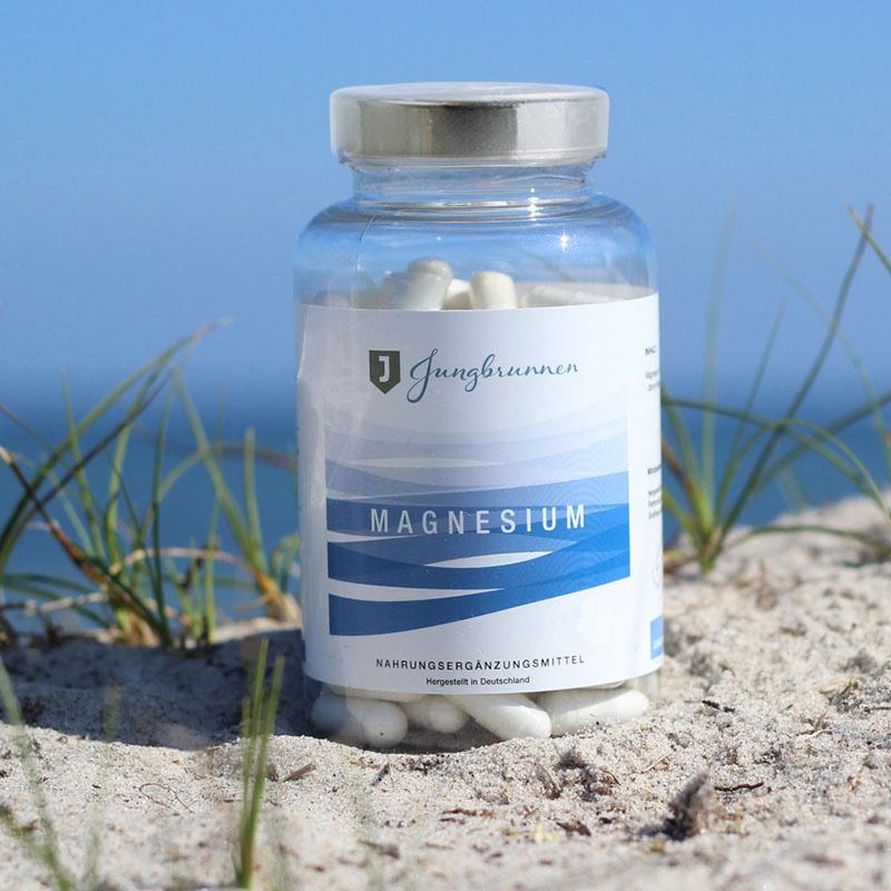 Jungbrunnen-Magnesium-Kapseln-Meerwasser-Strand